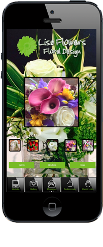 Get the Lisa Flowers app!