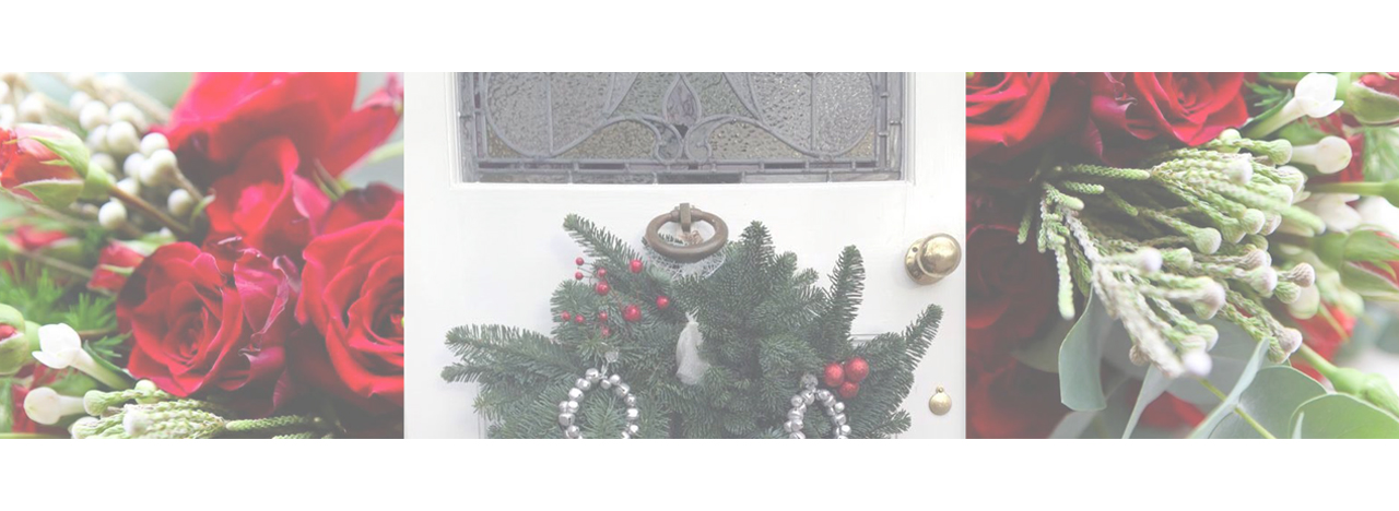 Christmas wreaths and flowers Solihull